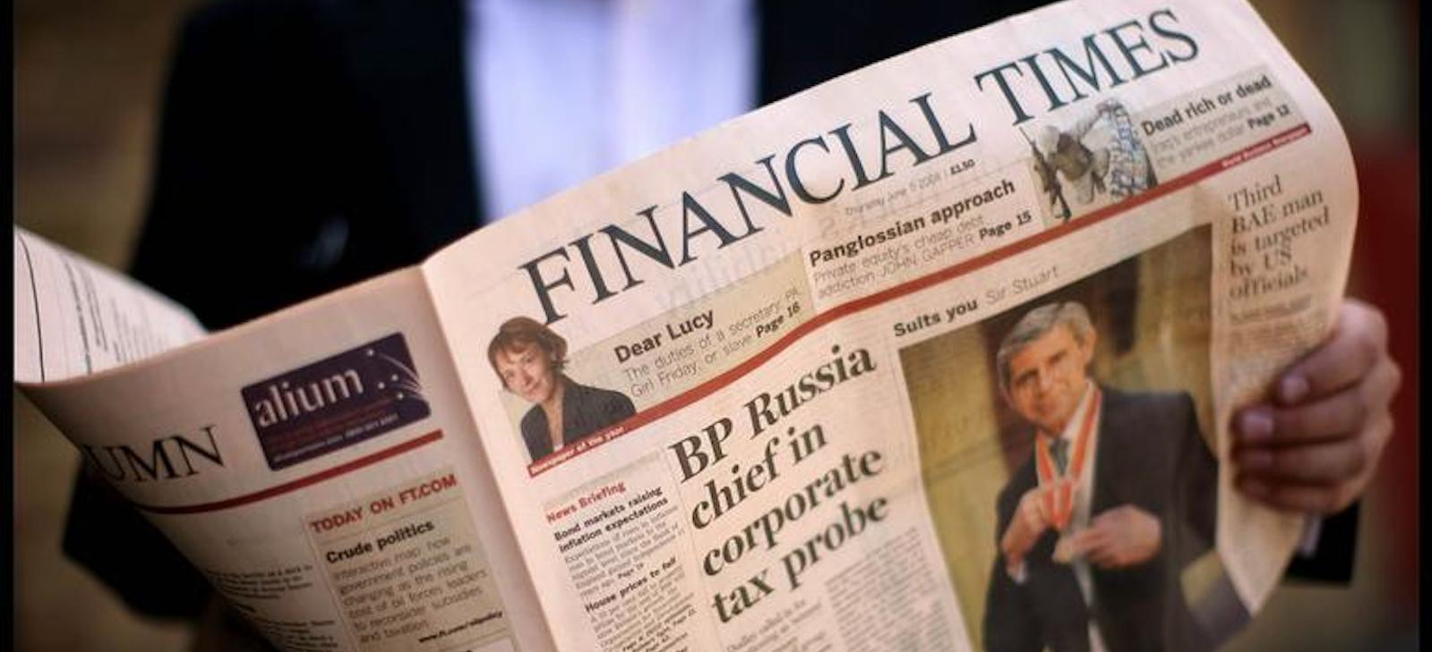 Luminescence Wins 3-Year Contract with The Financial Times