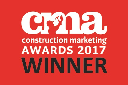 Construction Marketing Awards Winner 2017